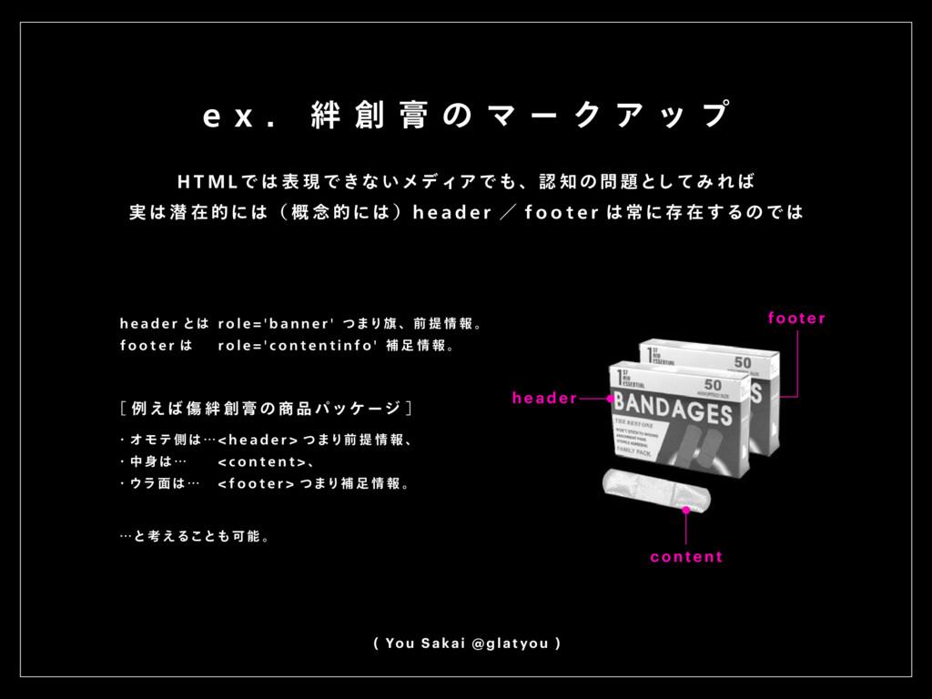 e x . 絆 創 膏 の マ ー ク ア ッ プ ( You S akai @ glat y...
