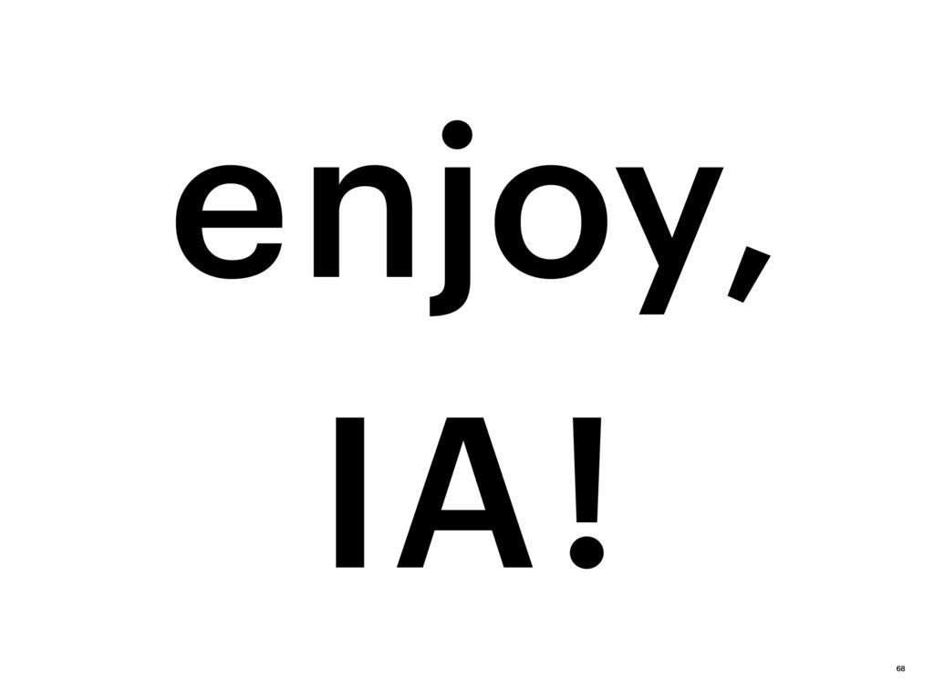 IA ! enjoy, 68