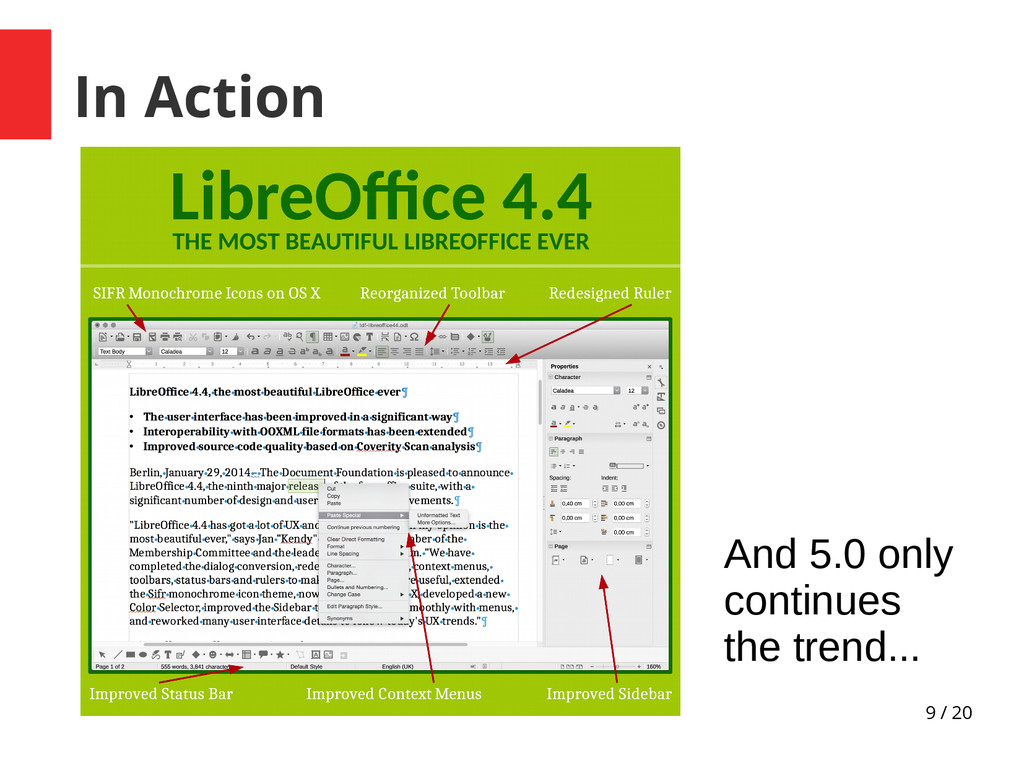 9 / 20 In Action And 5.0 only continues the tre...