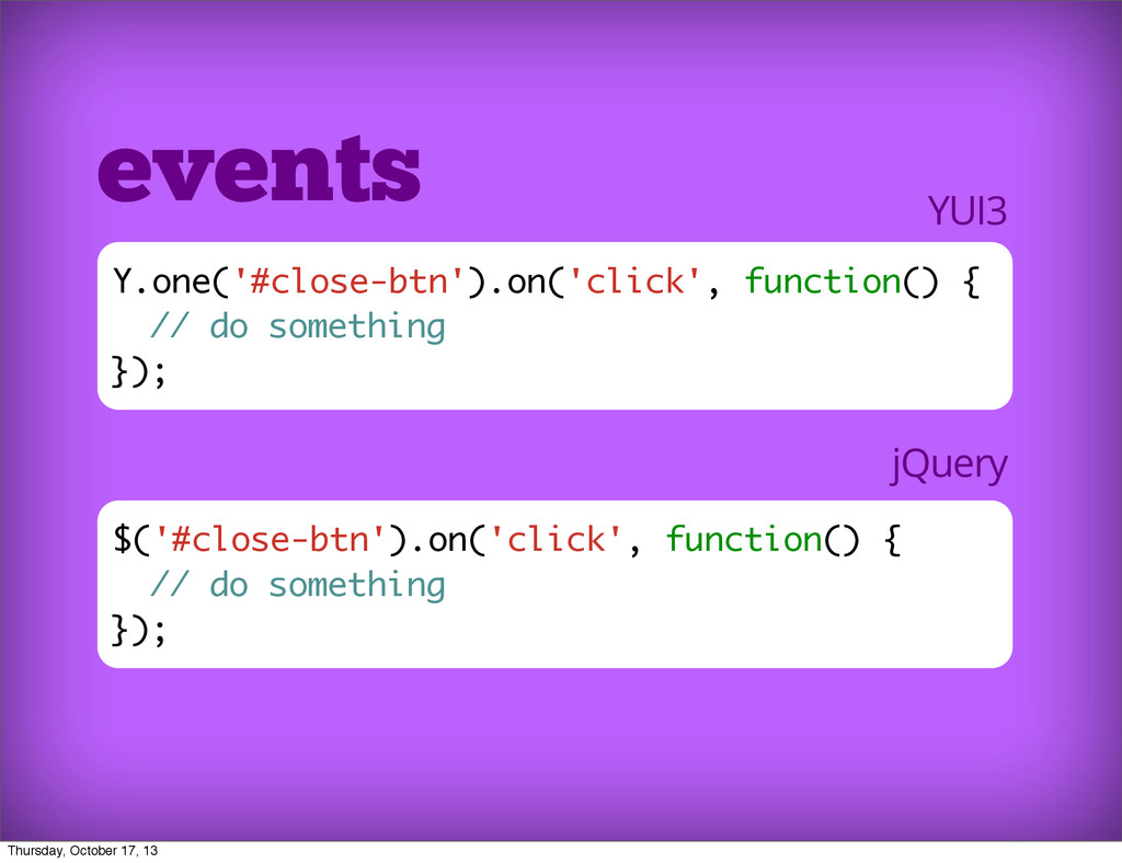 $('#close-btn').on('click', function() { // do ...