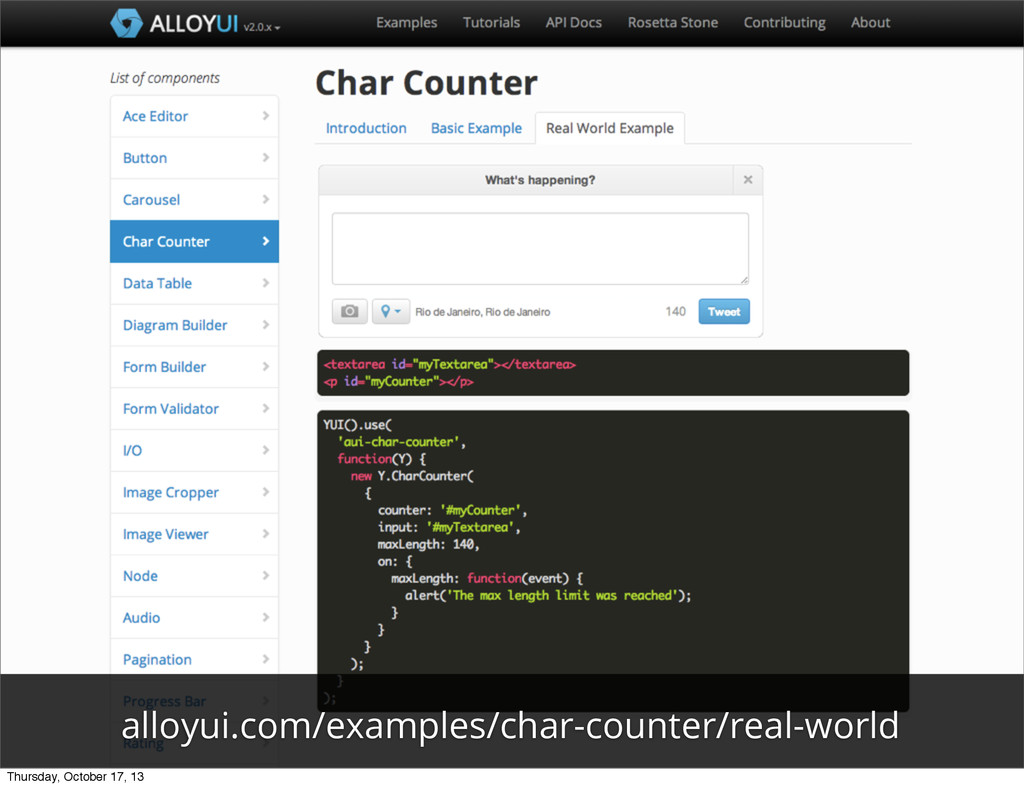 alloyui.com/examples/char-counter/real-world Th...