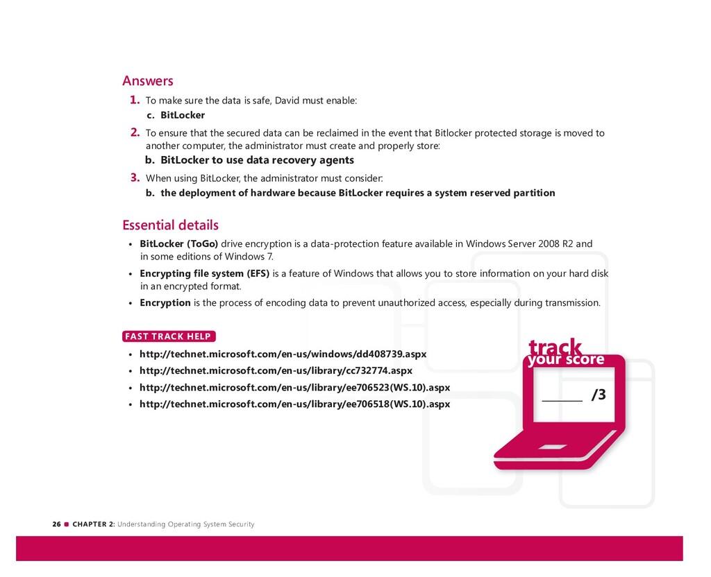 26 CHAPTER 2: Understanding Operating System Se...