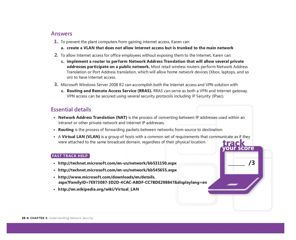 38 CHAPTER 3: Understanding Network Security An...