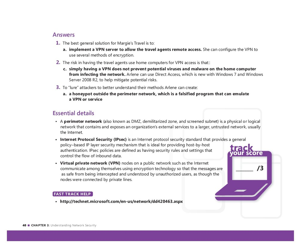 40 CHAPTER 3: Understanding Network Security An...