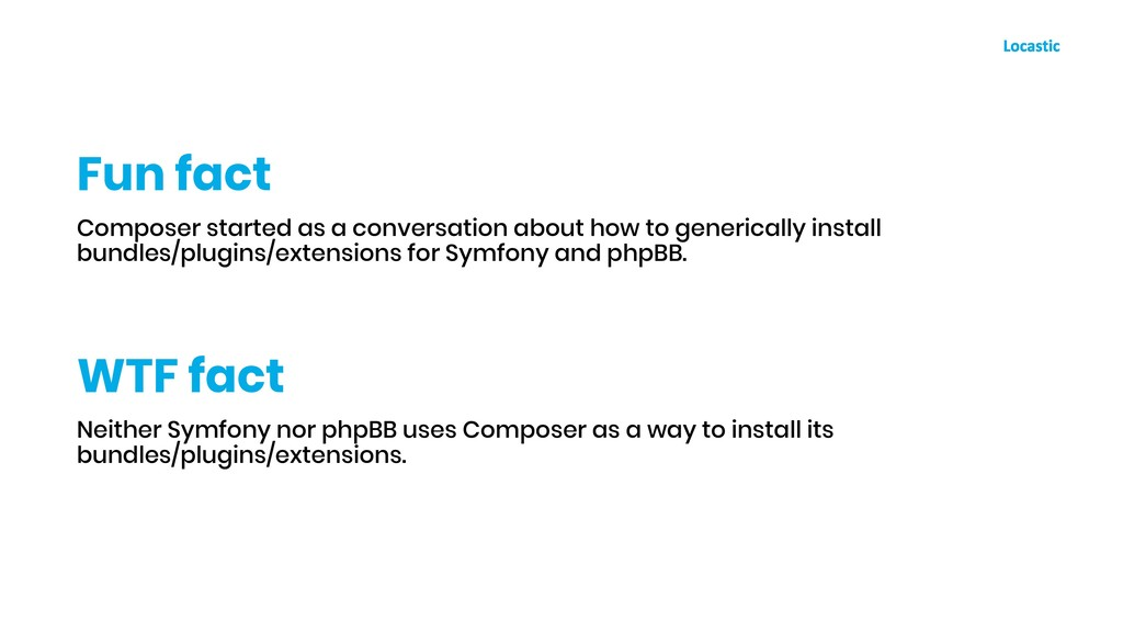 Composer started as a conversation about how to...