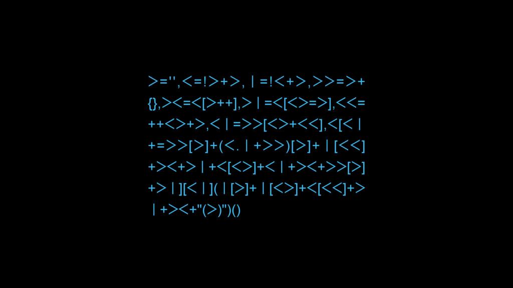 ᐳ='',ᐸ=!ᐳ+ᐳ,Ƙ=!ᐸ+ᐳ,ᐳᐳ=ᐳ+ {},ᐳᐸ=ᐸ[ᐳ++],ᐳƘ=ᐸ[ᐸᐳ=ᐳ...