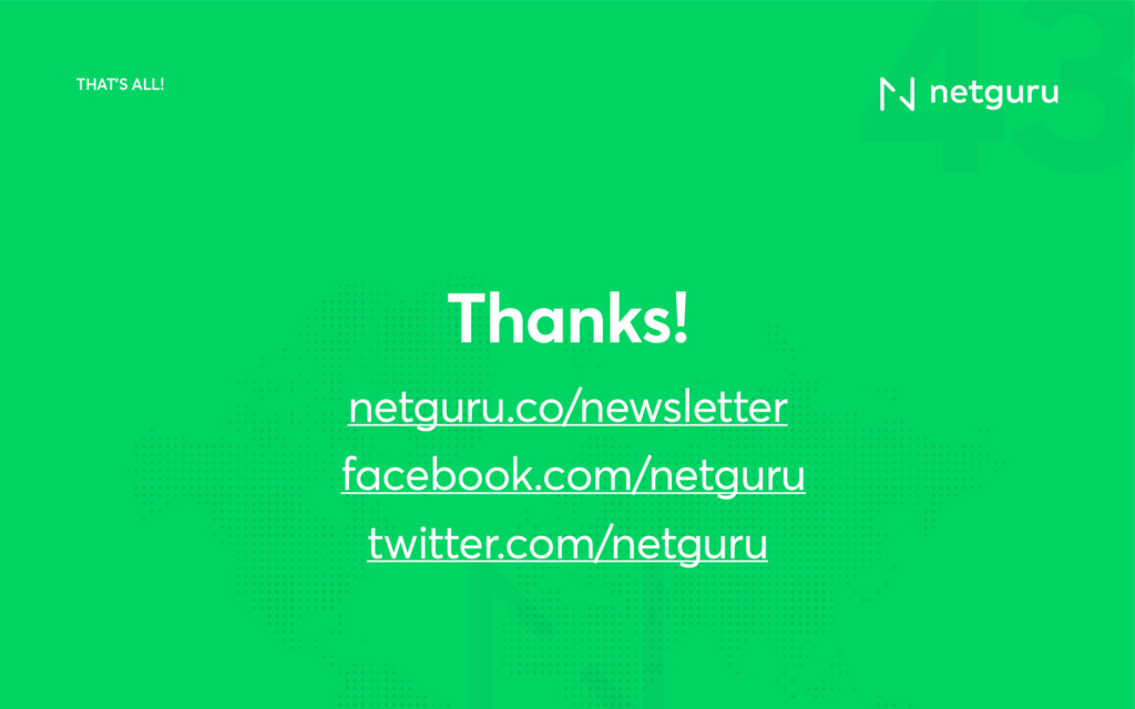 43 netguru.co/newsletter facebook.com/netguru t...