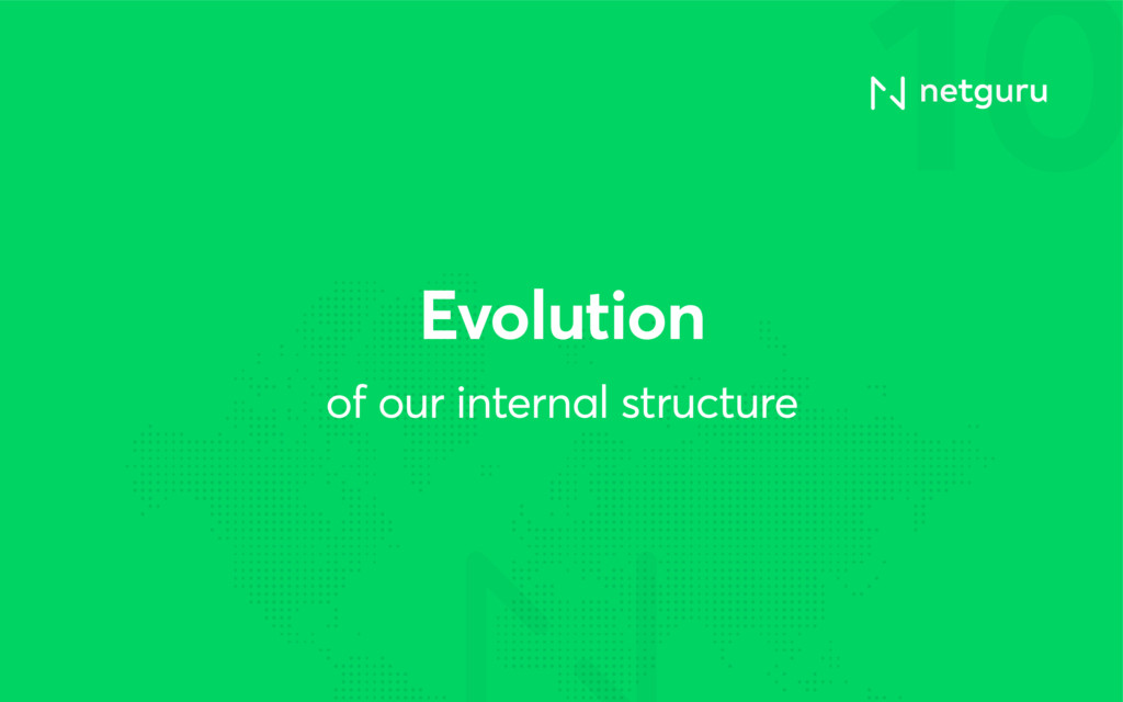 10 of our internal structure Evolution