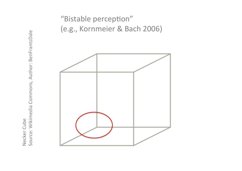 Necker Cube  Source: Wikimedia Comm...