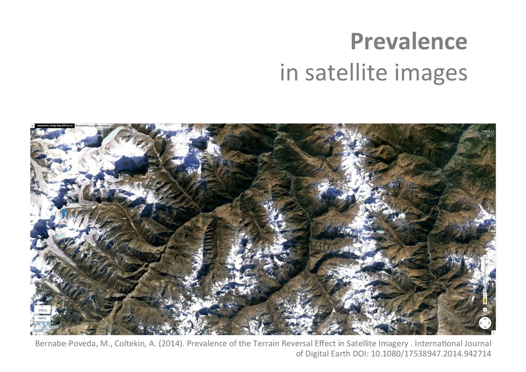 Prevalence  in satellite images  Be...