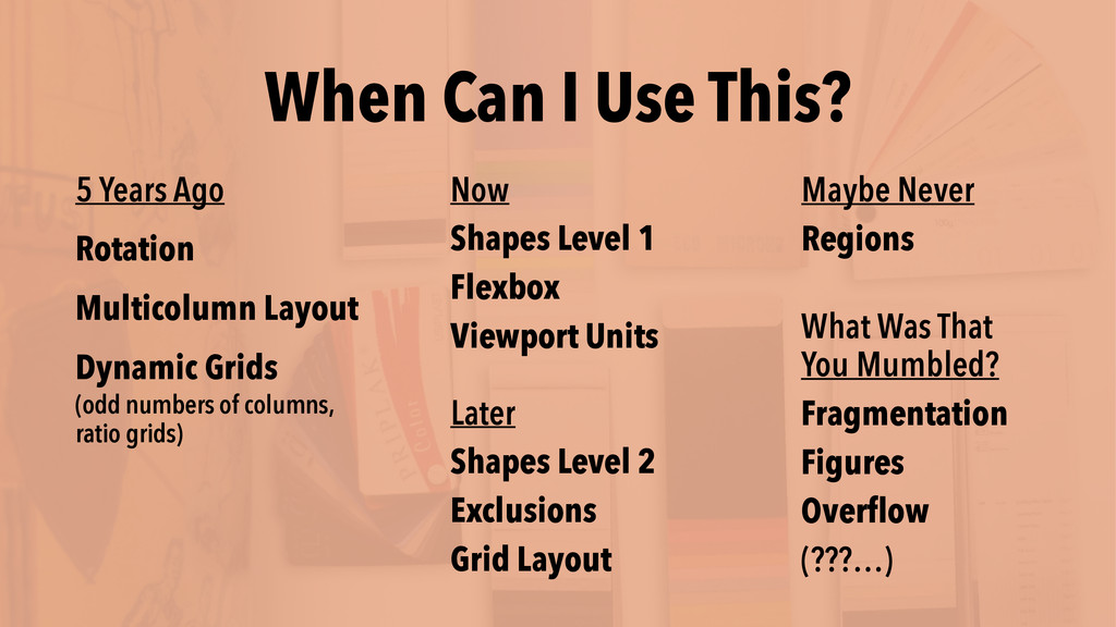 When Can I Use This? Later Shapes Level 2 Exclu...
