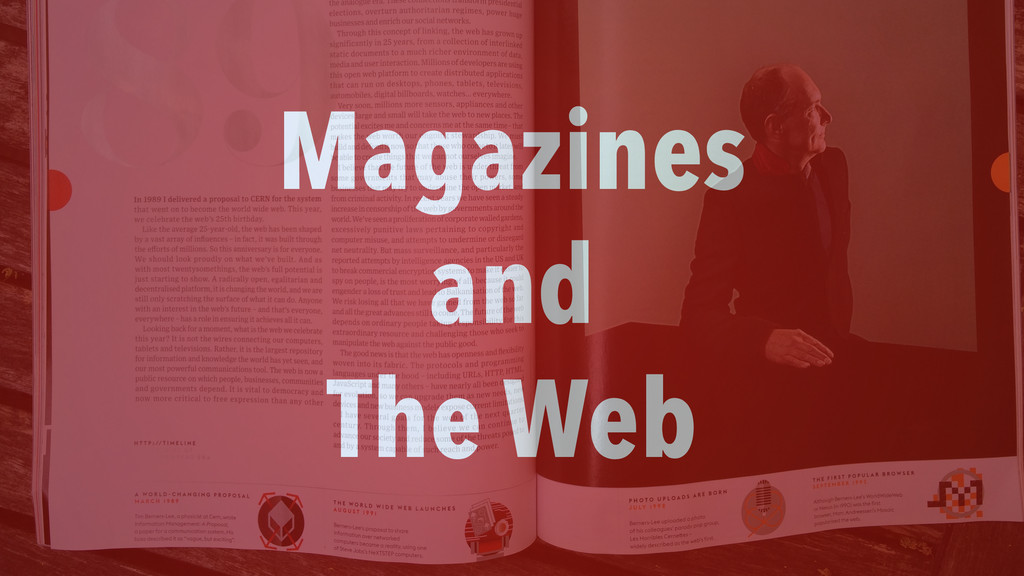 Magazines and The Web