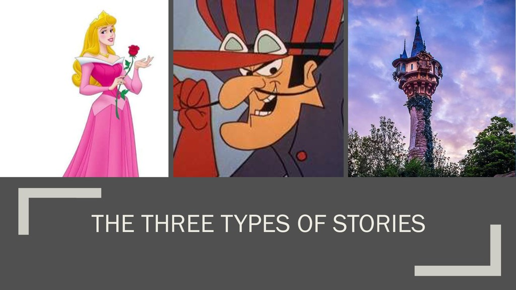 THE THREE TYPES OF STORIES