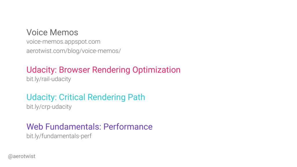 Udacity: Browser Rendering Optimization bit.ly/...
