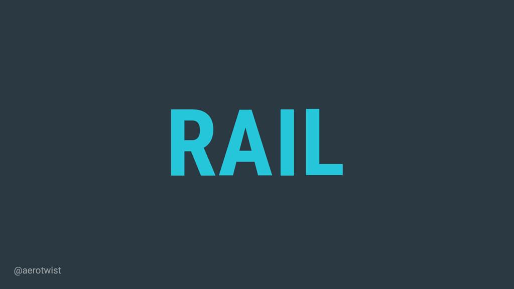 RAIL ESPONSE NIMATION DLE OAD @aerotwist