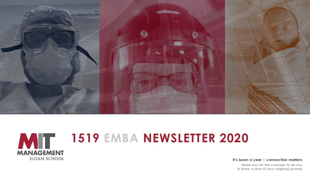 1519 EMBA NEWSLETTER 2020 it's been a year | co...
