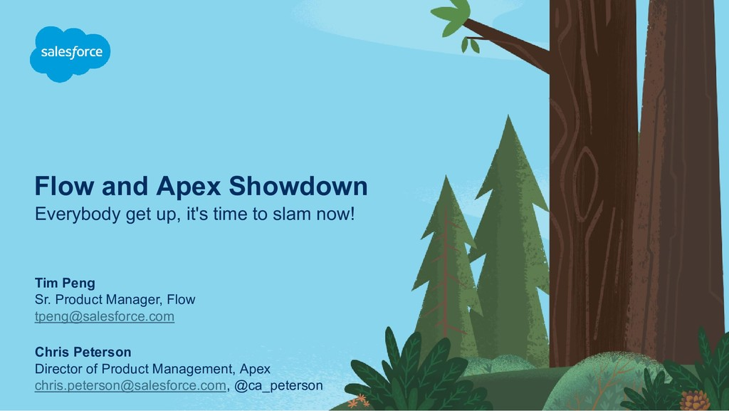 Flow and Apex Showdown Everybody get up, it's t...