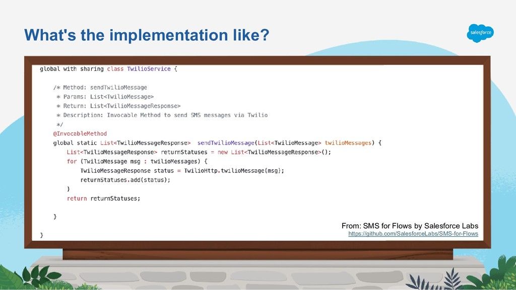 What's the implementation like? From: SMS for F...