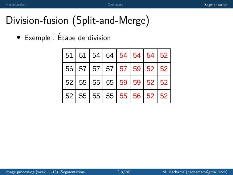 Introduction Contours Segmentation Division-fus...