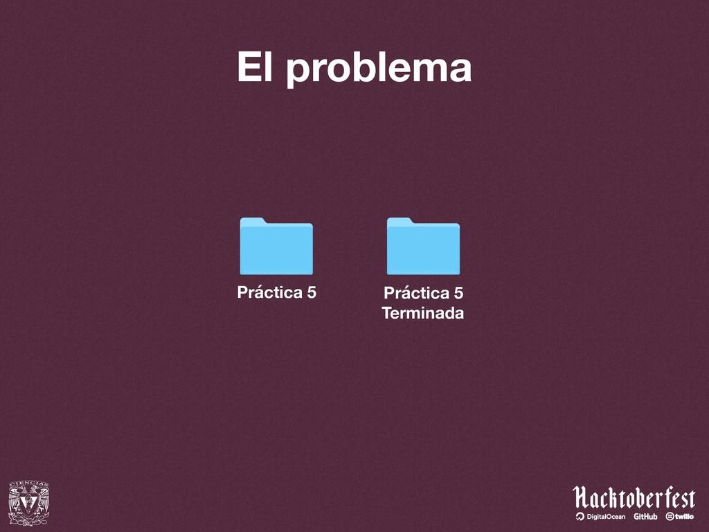 El problema Práctica 5 Práctica 5 Terminada