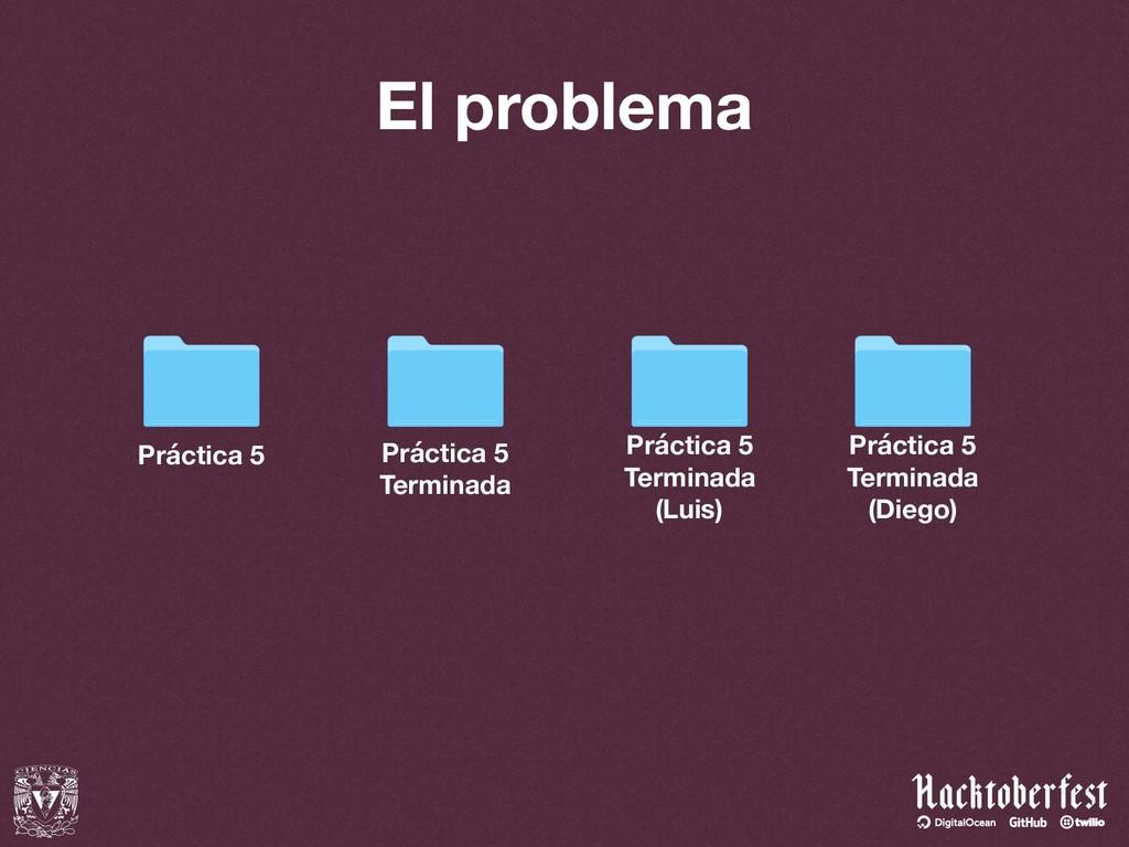 El problema Práctica 5 Práctica 5 Terminada Prá...
