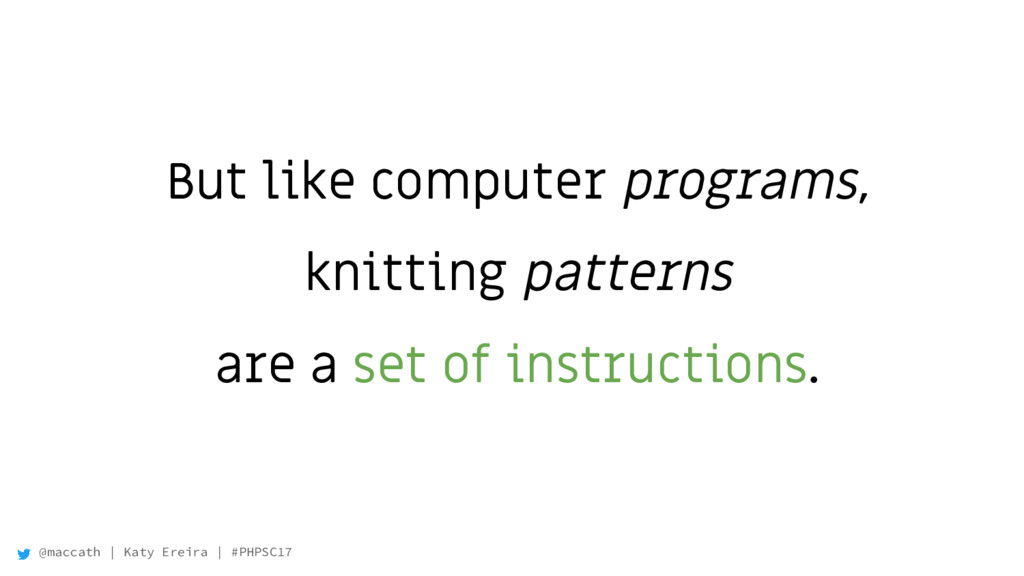 @maccath | Katy Ereira | #PHPSC17 But like comp...