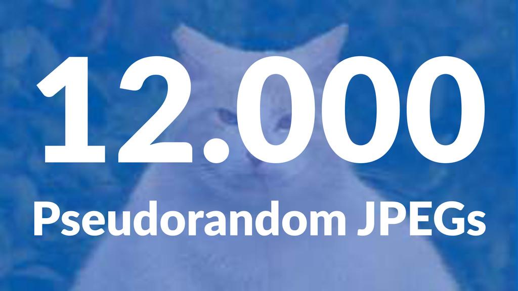 12.000 Pseudorandom+JPEGs