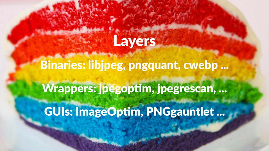 Layers Binaries:)libjpeg,)pngquant,)cwebp)... W...