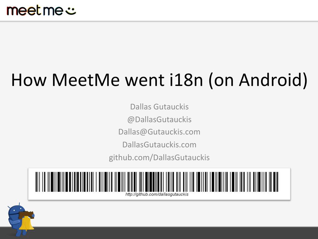 How MeetMe went i18n (on Android...