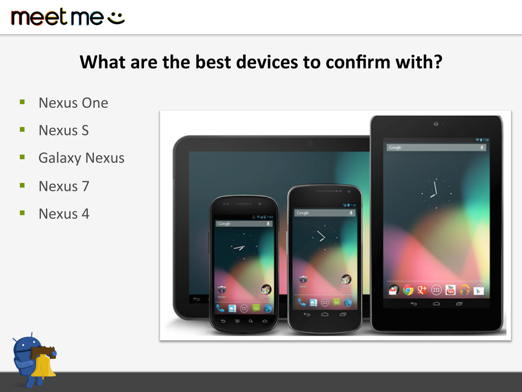 What are the best devices to ...