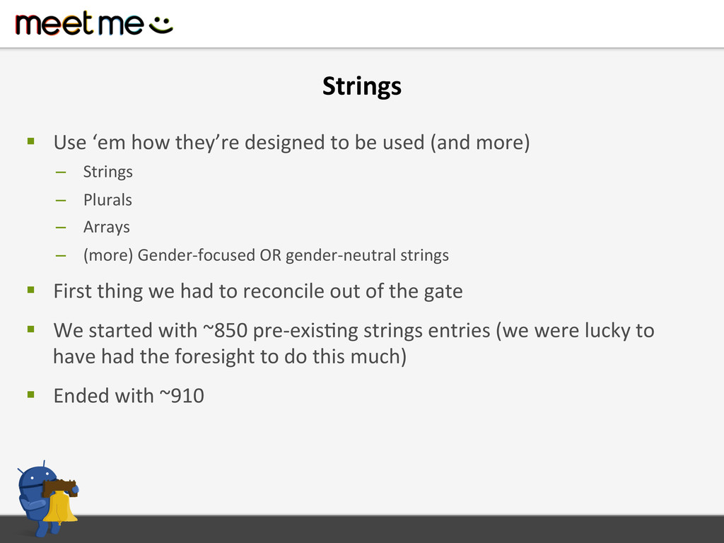 Strings  § Use 'em how they're ...