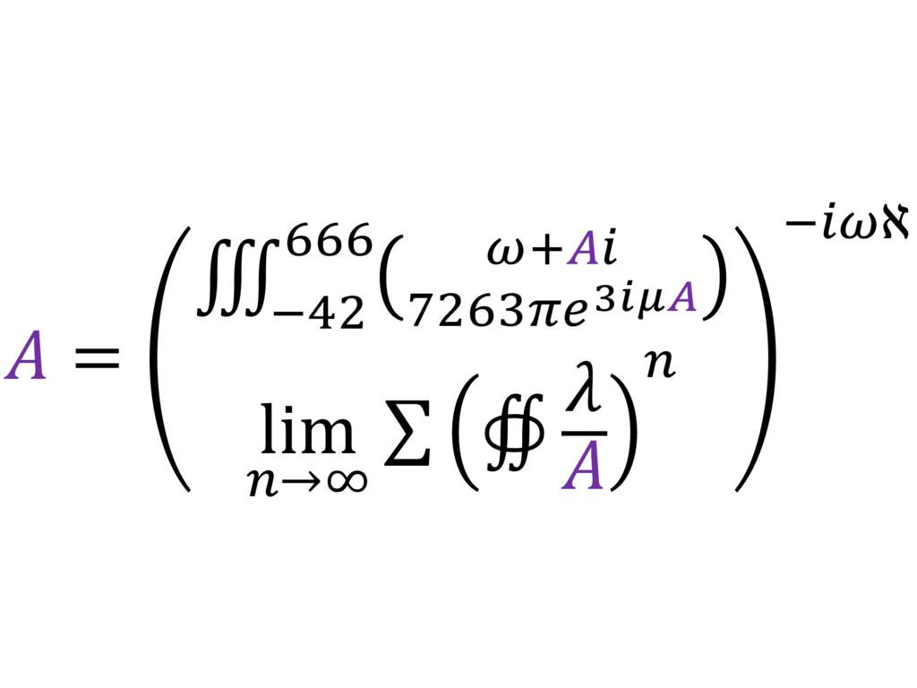 = ∭ $%&' ()*+,-./01 *** 23) lim 7→9 ∑ ∯   7 2'...