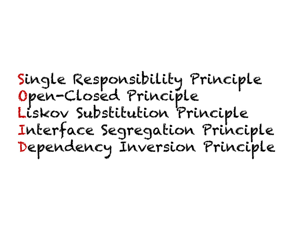Single Responsibility Principle Open-Closed Pri...