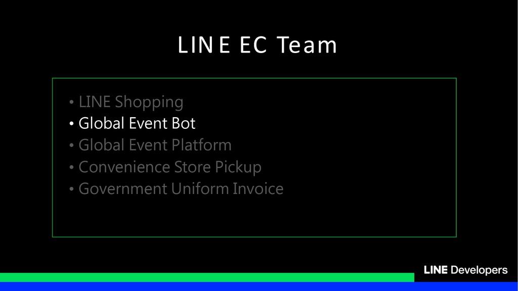 LIN E EC Team • • • • •