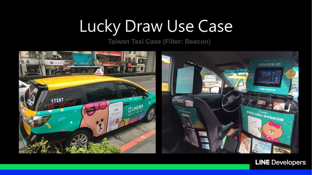 Taiwan Taxi Case (Filter: Beacon)