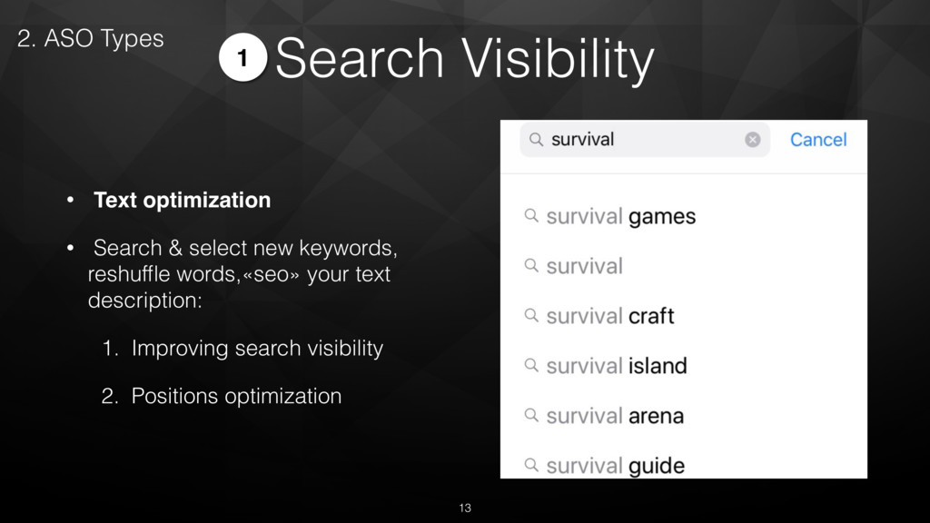 Search Visibility • Text optimization • Search ...