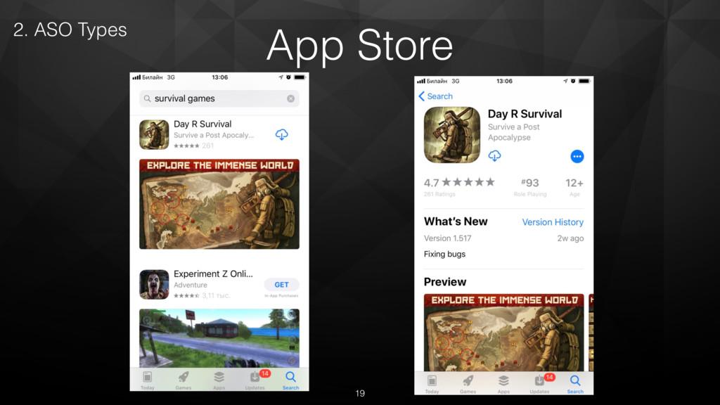 App Store 2. ASO Types 19