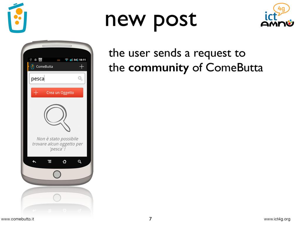 www.comebutta.it www.ict4g.org new post 7 the u...