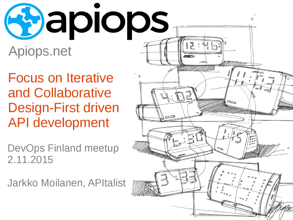 Apiops net DevOps Finland meetup 2.11.2015 Jark...
