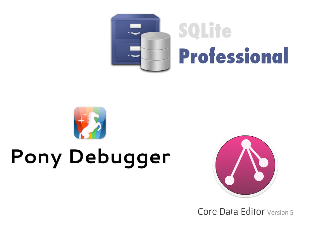 SQLite Professional Pony Debugger