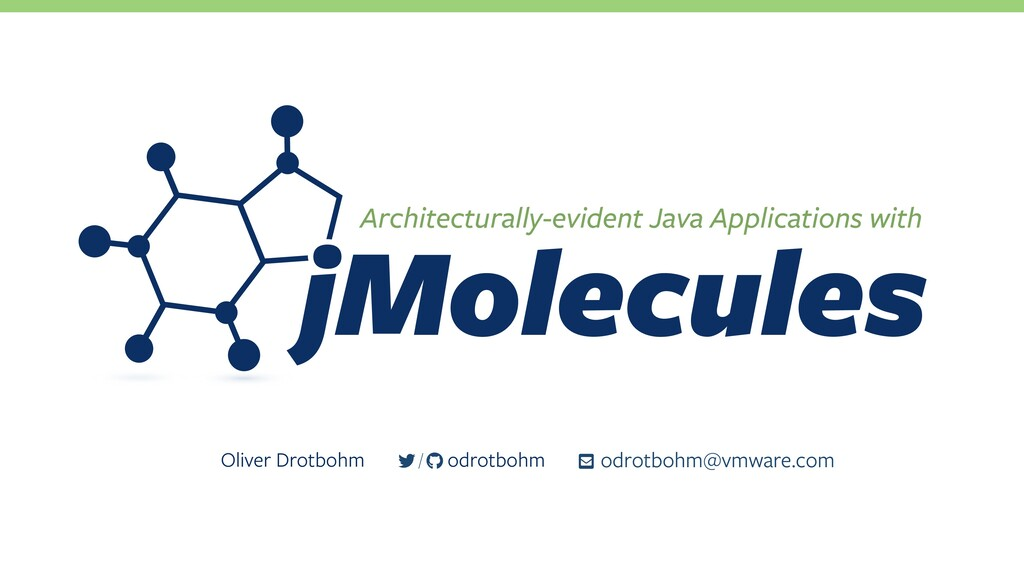 Architecturally-evident Java Applications with ...