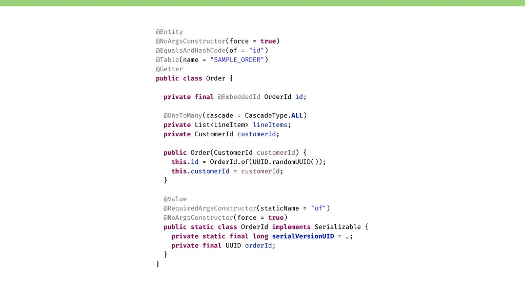 Verifying a jMolecules Aggregate … in jQAssista...