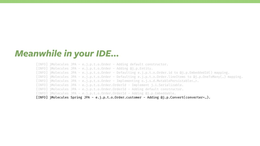 IDE support