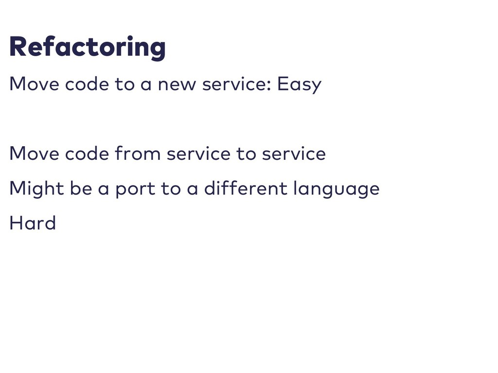Refactoring Move code to a new service: Easy Mo...