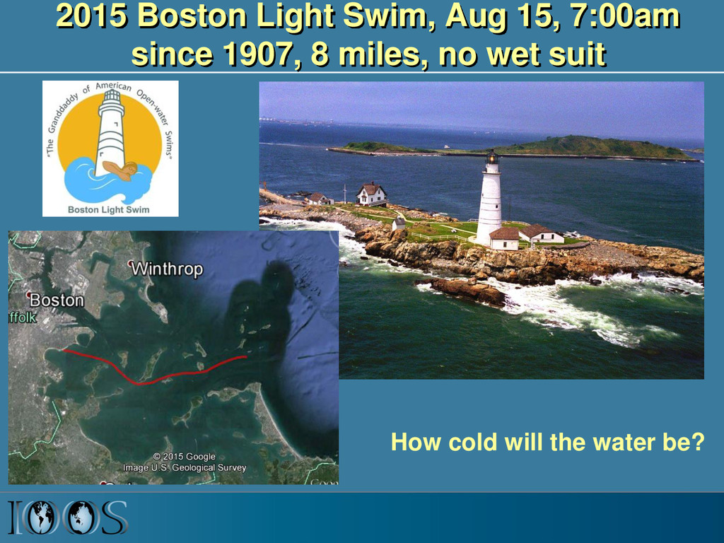 2015 Boston Light Swim, Aug 15, 7:00am since 19...