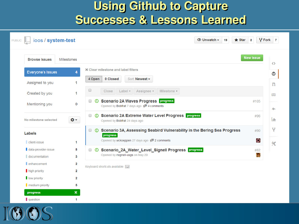 Using Github to Capture Successes & Lessons Lea...