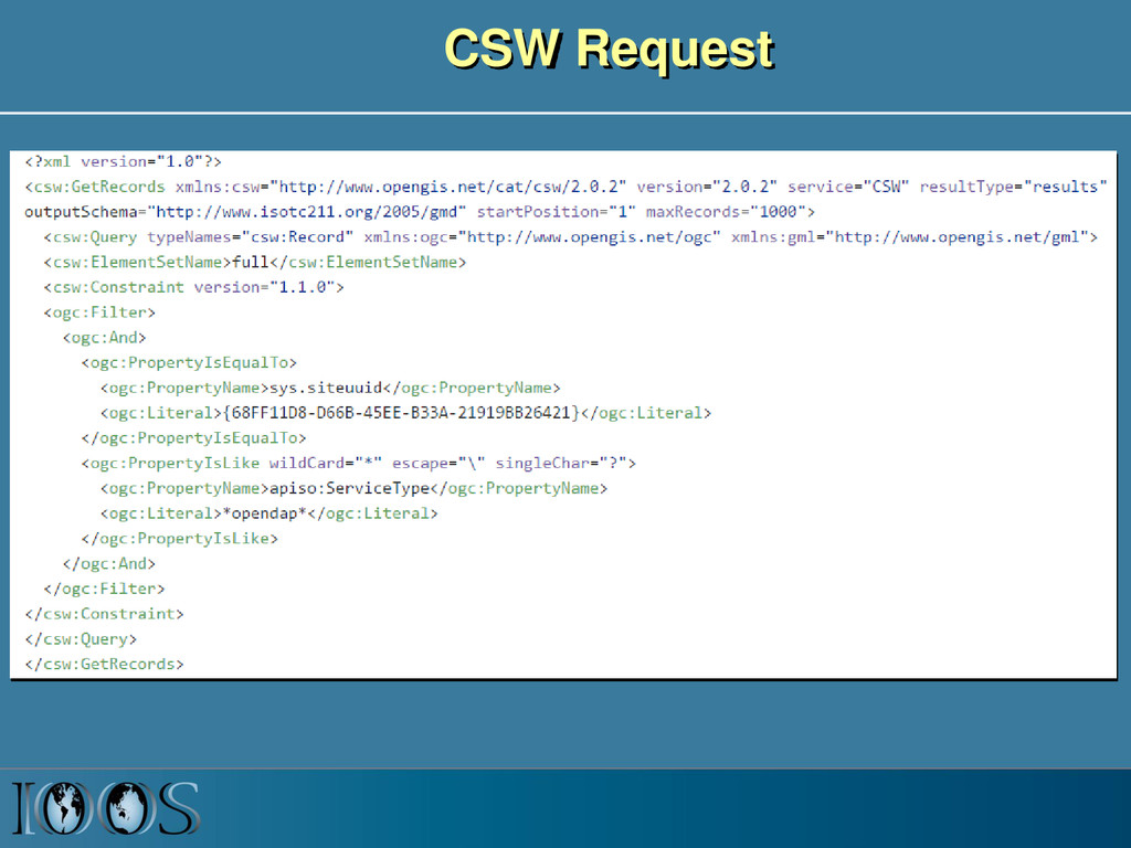 CSW Request