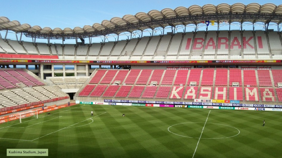 Kashima Stadium, Japan