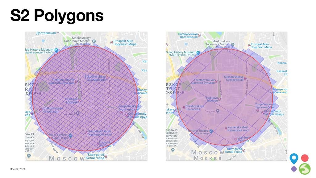 Москва, 2020 S2 Polygons