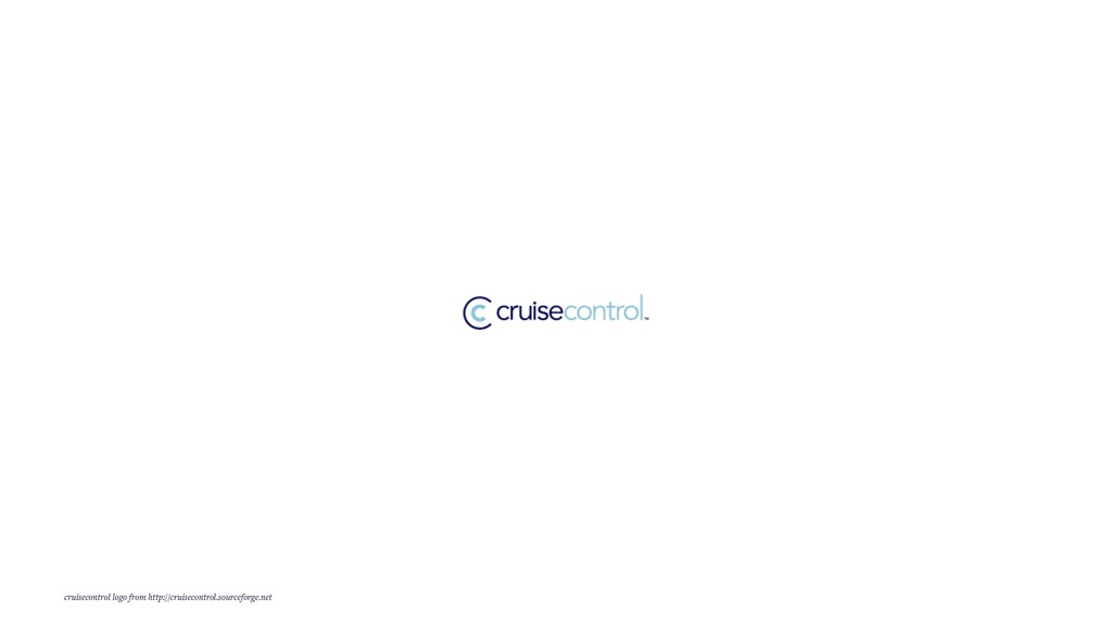 cruisecontrol logo from http://cruisecontrol.so...